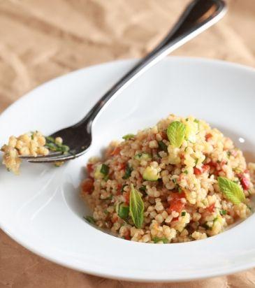 Πλιγούρι με λαχανικά και δυόσμο με άρωμα από γεμιστά | Γιάννης Λουκάκος