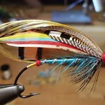 Blue Doctor a set of 4 doctor to a good friend in US #flugbindning #laxflugor #salmonflies #laxfiske #classicsalmonflies