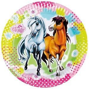 Charming Horses Party Kit (invites, plates, cups, balloons and more) AU $45