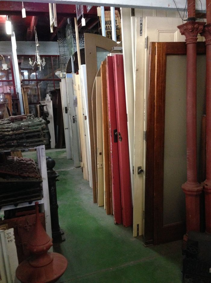 We have around 300 interior and exterior doors from the 1800s and 1900s usually including – front doors with frames, back and end of passage doors; four panel, 'cricket bat', bung…  federationtrading.com.au