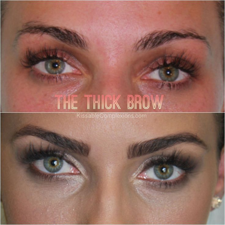 The best products to shape thick brows!
