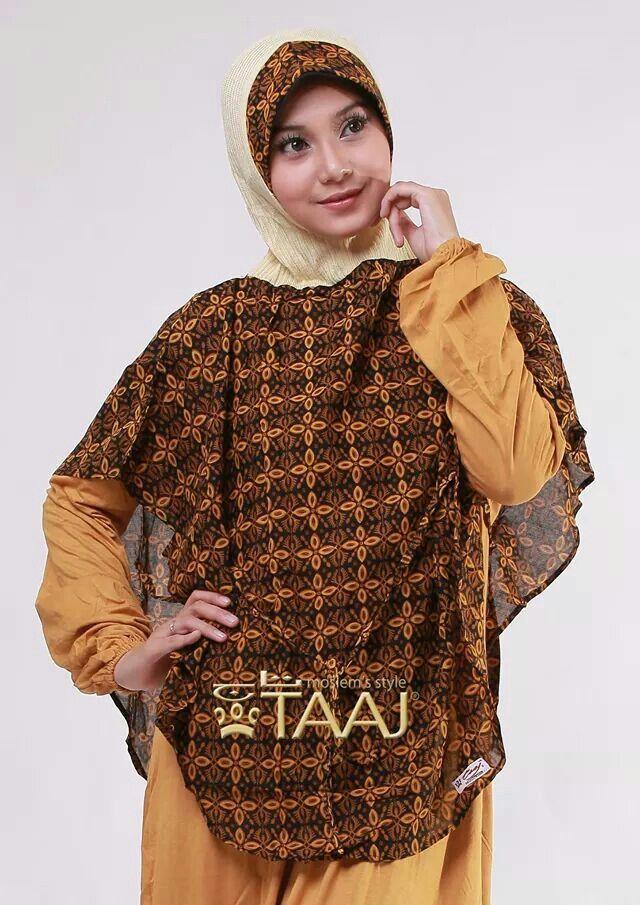 Jilbab taaj batik