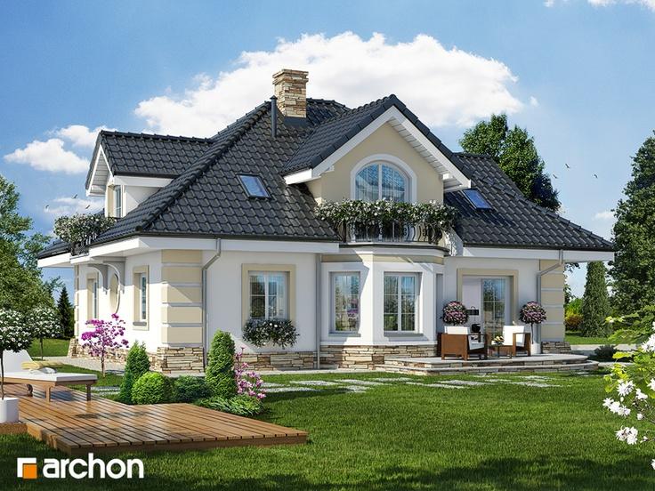 Проект дома ARCHON+ Дом в дуброве (Г2)