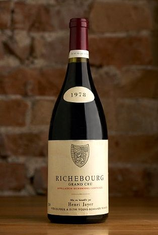 The Most Expensive Wines In The World | A Luxury Travel Blog - August 25, 2013 [Pictured: Henri Jayer Richebourg Grand Cru 1978 - Côte de Nuits, France]