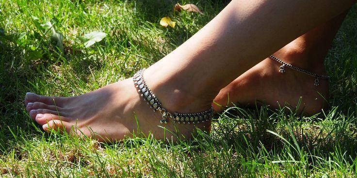 Mai sexy de atât nu se poate ;)  Brățări de picior indiene autentice    #metaphora #silverjewellery #silverjewelry #footbracelet #india