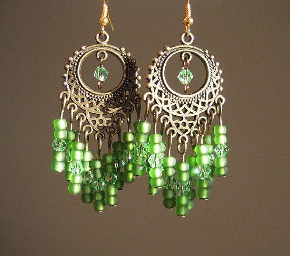 Bohemian brass & green chandelier earrings by prettypiecesjewelry on Etsy. #fashion #jewelry #boho http://www.etsy.com/listing/80524922/brass-and-green-chandelier-earrings?ref=sr_gallery_21&ga_search_query=chandelier+earrings&ga_view_type=gallery&ga_ship_to=US&ga_page=3&ga_search_type=handmade&ga_facet=handmade