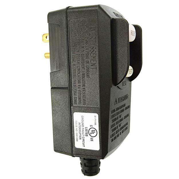 Gfci Replacement Plug Earth Leakage Circuit Breaker Ul Listed Rcd 120volt 15amp Gfci Plug Gfci Plugs