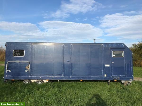 Kutschenanhänger 3500kg für Kutschen und Pferde