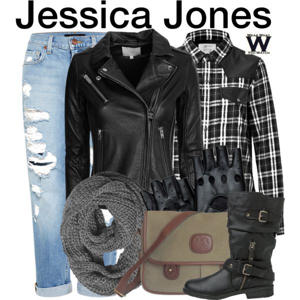 Inspired by Krysten Ritter as the title character on Jessica Jones.