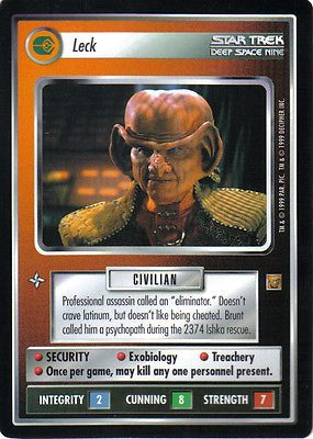 STAR TREK CCG RULES OF ACQUISITION RARE CARD LECK for GBP1.50 #Collectables #Trading #Cards/ #ACQUISITION Like the STAR TREK CCG RULES OF ACQUISITION RARE CARD LECK? Get it at GBP1.50!
