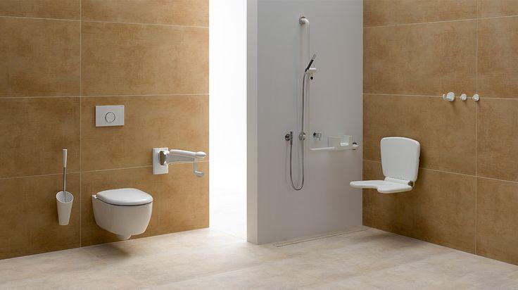 12 besten barrierefreies bad bilder auf pinterest badezimmer barrierefrei und impressionen. Black Bedroom Furniture Sets. Home Design Ideas