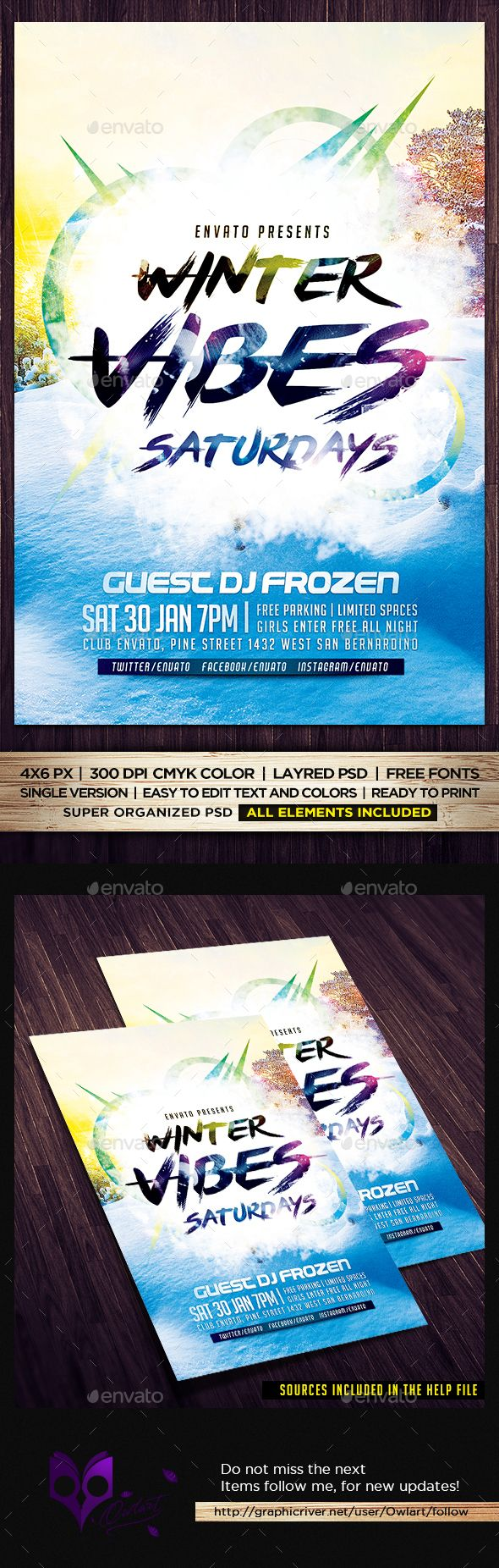 17 best images about marketing postcards flyers winter vibes saturdays flyer