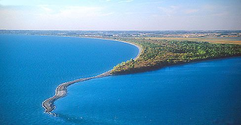 Point Pelee National Park, the southernmost tip of Canada and where Lakes Erie and Ontario meet.