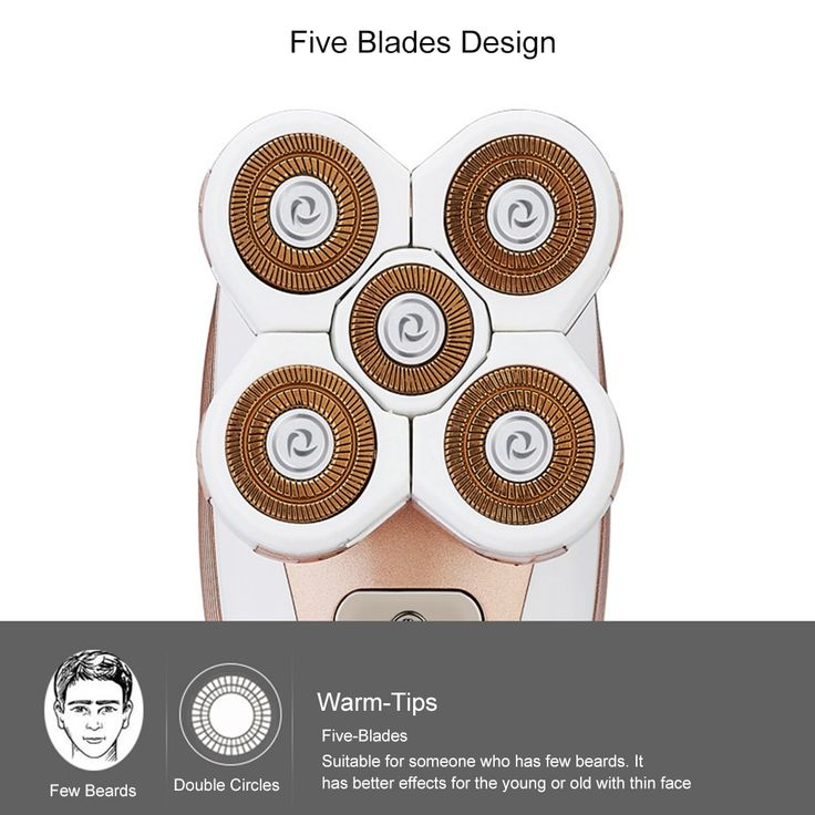 5 in 1 5D Electric Shaver for Women Shaver Electric Razor Rechargeable