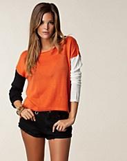$199 Chaos Knit - Rut m.fl. - Orange - Tröjor - Kläder - NELLY.COM Mode online på nätet