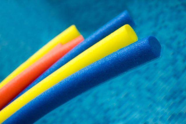 Swimming Pool Exercises Using an Aqua Noodle
