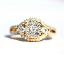 Fabulous Engagement Style Glamour Ring 18YG   #DiamondsExclusive