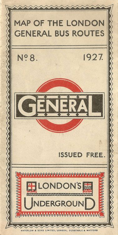 London Underground 1927