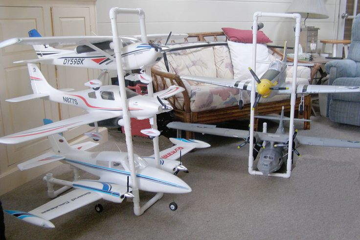 Rc Airplane Storage Might Need To Add Wheels To The Racks