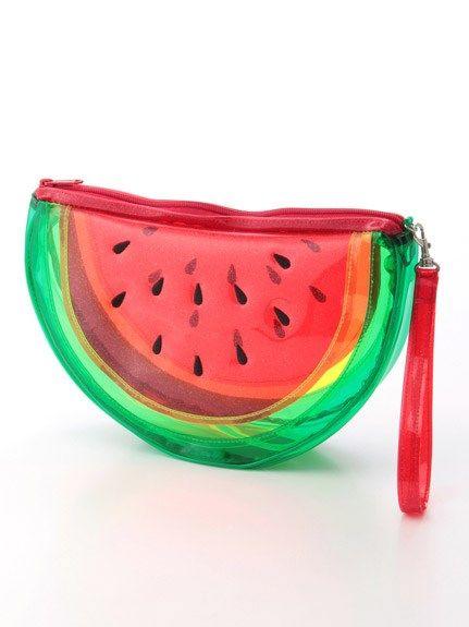 Watermelon clear bag