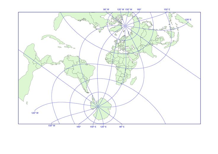 21 best strange world map and world projections images on pinterest hotine globe projection the hotine world map projection is a cylindrical conformal map projection gumiabroncs Gallery