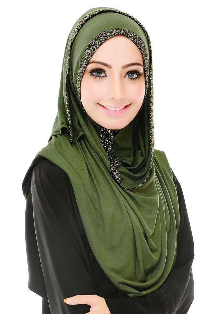 Buy Qish Qish Butik INSTANT SHAWL NICOLE 10 Online | ZALORA Malaysia
