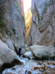 costa blanca spain canyoning