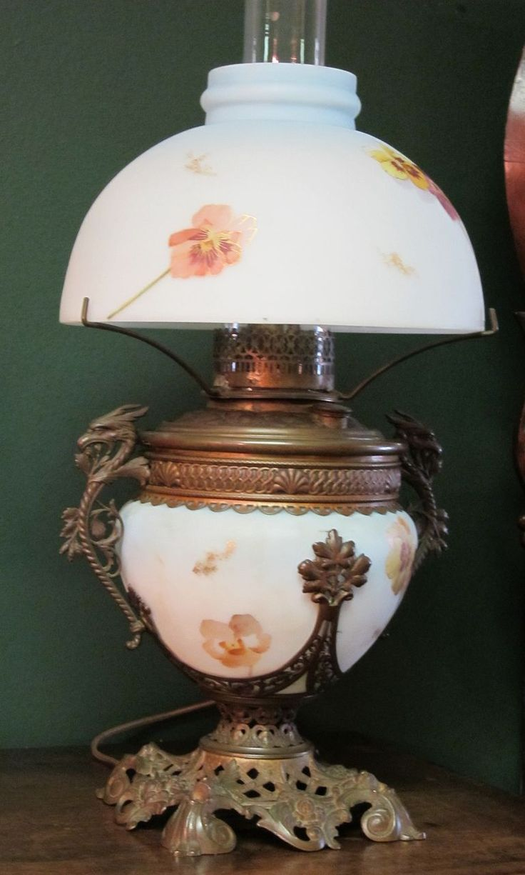 Oil Lamp Convert To Electric