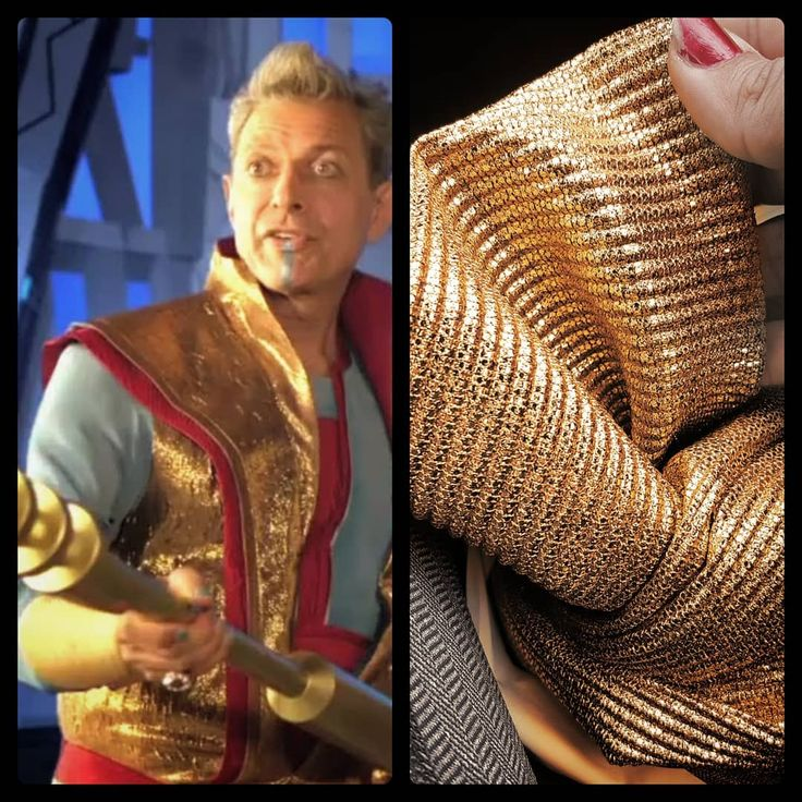 Another costume with impossible fabrics. I decided to focus on finding the right shade of gold and the right drape. I ended up sacrificing accurate texture but at least it has SOME texture. At a distance it looks great haha. I'll just need Topaz to keep folks back with the melt stick.  #cosplay #floridacosplay #marvelcosplay #grandmaster #grandmastercosplay #Marvel #fabric #why