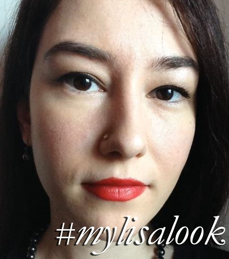Claudia inspired by my makeup tutorials http://www.lisaeldridge.com/video/ #MyLisaLook #Makeup #Beauty