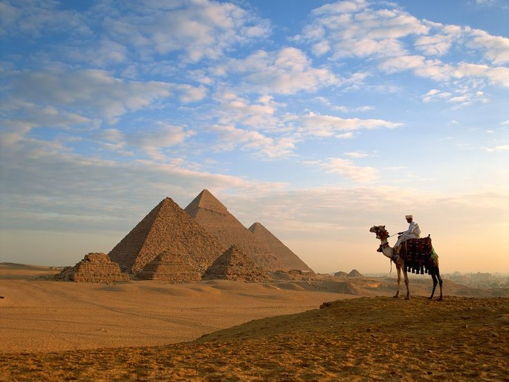 Giza's three great pyramids are mysterious marvels of architecture. We may never know whether or not they were built by mutants.