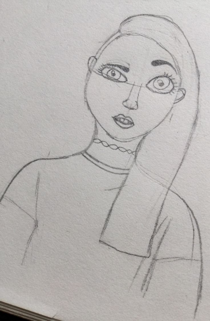 A little sketch I made yesterday I really like it what do you think? ~ areo