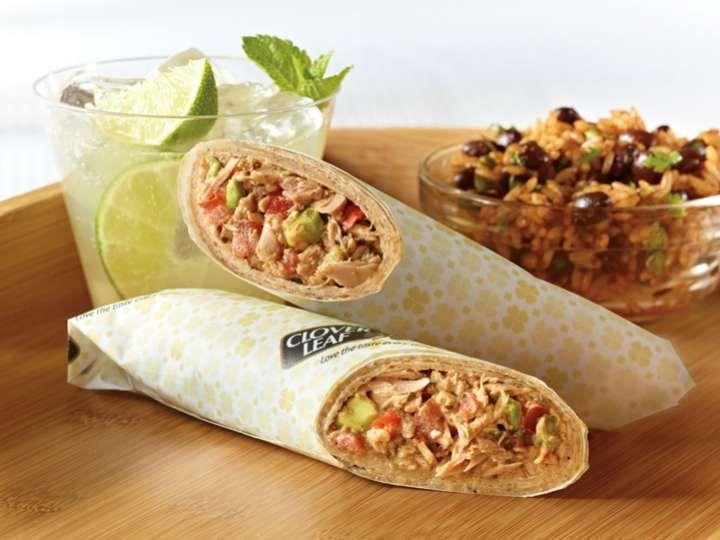 Burrito Accro au thon Clover Leaf® recette de Clover Leaf