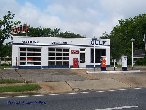 Vintage Gas Stations Gulf