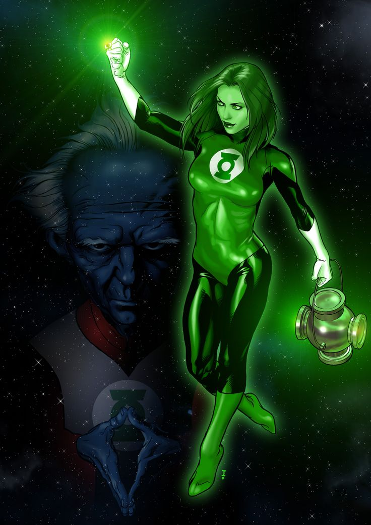 105 Best Green Lantern Images On Pinterest  Comics, Green -8424