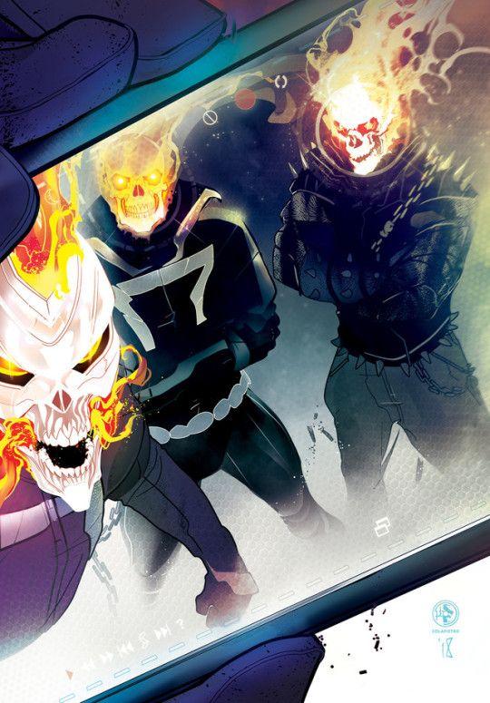 Ghost Rider's by Leo Colapietro