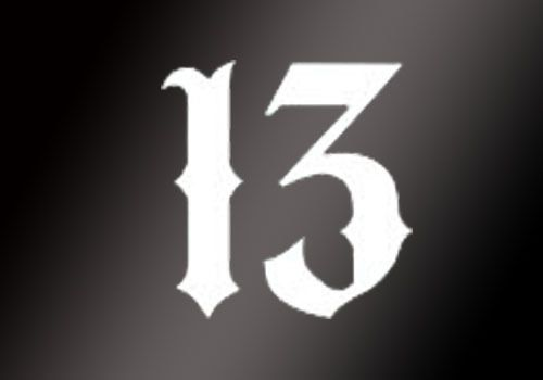 Lucky Number 13 Vinyl Car Window Decal Motorcycle Tattoo Skateboar Sticker Decor // ebay shop:http://stores.ebay.com/leyintzonline // website:http://ws.metoshop.com