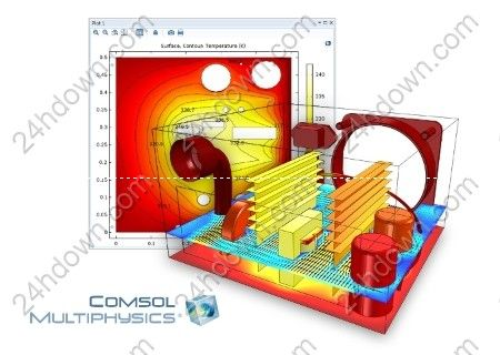 Comsol Multiphysics 5.3.0.260 | 4.2 Gb COMSOL, the leading provider of multiphysics modeling and simulation software, has released an update to COMSOL Multiphysics 5.3 software, is a general-purpose software platform, based on advanced numerical methods, for modeling and simulating physics-based problems.   #Comsol #Multiphysics