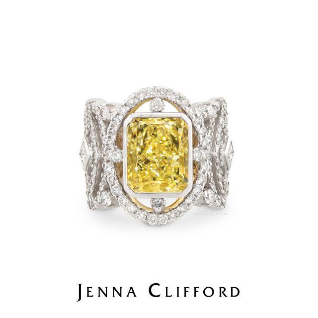 Jenna Clifford handmade designer ring - Perfection #JennaClifford #JCEngagement