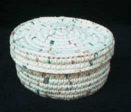 17 best images about crochet coiled basket pattern on
