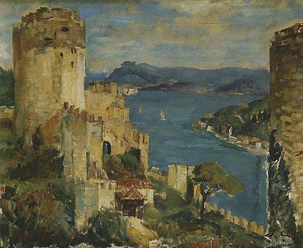 İbrahim Çallı  (1882-1960): Turkish painter.