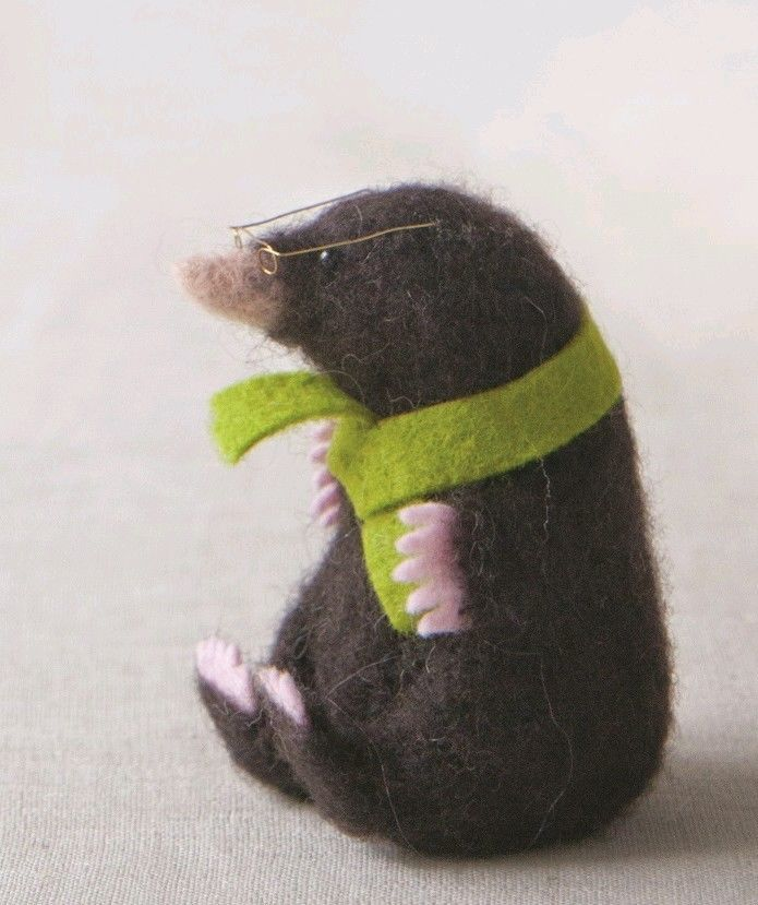 Mole Supply Pack - for use with Making Needle Felted Animals book in Crafts, Other Crafts, Other Crafts | eBay