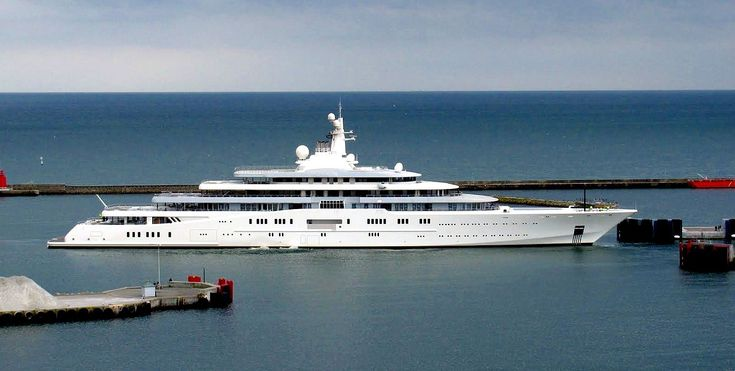 Top 13 Most Expensive Yachts in the World - Eclipse - Rich and Loaded