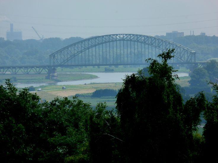 Spoorbrug tussen Driel en Arnhem
