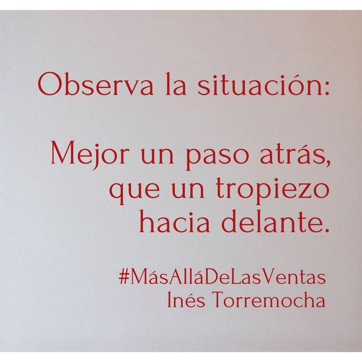 Observar. #MasAllaDeLasVentas #citas