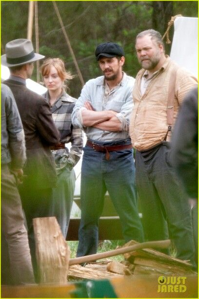 Filming In Dubious Battle with James Franco