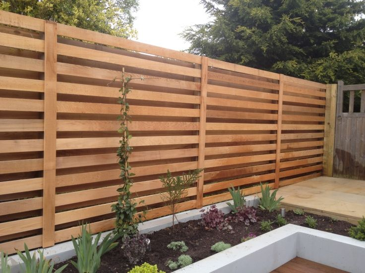 Western Red Cedar Trellis Fence Go Outside Pinterest