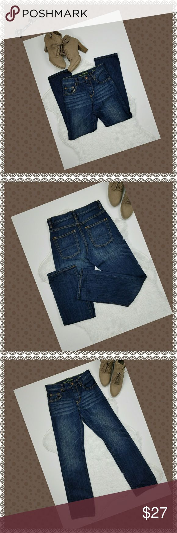 GAPKids 1969 Straight Cut Jeans GapKids denim jeans regular size 14  Good condition 100% Cotton GapKids Jeans Straight Leg