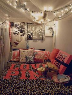 teenage girls bedroom idea