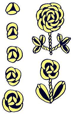 how to make bullion rose